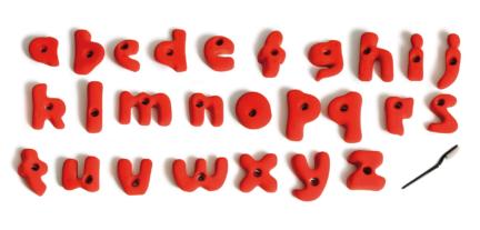alphabet prises escalade volx v-kids v-kids m enfants débutant 1