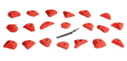 tchips prises escalade volx v-base ligne brake s pieds|doigts confirmé|expert 1